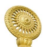 Le symbole de l'isolat de bouddhisme Photos stock