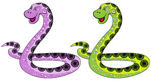 Le symbole de serpent en 2013 Photo libre de droits