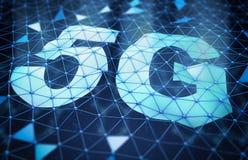 Le symbole 5G illustration de vecteur