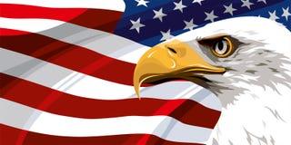 Le symbole national des Etats-Unis illustration libre de droits