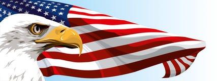 Le symbole national des Etats-Unis illustration stock