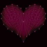 Le symbole original de l'amour Photos libres de droits