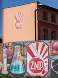 Le syndicat des enseignants polonais Zwiazek Nauczycielstwa Polskiego images libres de droits