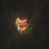 Le système énergétique comme humaine étonnant du garçon de la pâte de Pillsbury | Art de fractale images stock