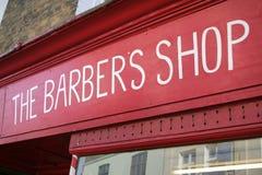 Le système de coiffeur Images stock