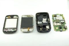Le téléphone portable démontent photos libres de droits