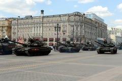 Le T-90A est un char de bataille russe troisième génération Photographie stock