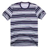 Le T-shirt des hommes d'isolement sur le fond blanc Images stock