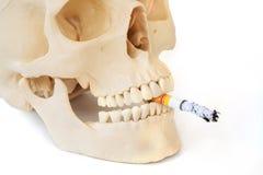 Le tabagisme des mises à mort, cessent le tabagisme Photos stock