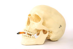 Le tabagisme des mises à mort, cessent le tabagisme Images stock