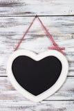 Le tableau de forme de coeur Images libres de droits