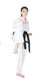 Le Taekwondo Photographie stock libre de droits