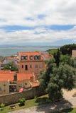 Le Tage, Lisbonne Photographie stock libre de droits