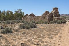 Le tagliatrici divide - la stazione di Kanyaka, Australia Meridionale fotografie stock