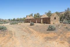 Le tagliatrici divide - la stazione di Kanyaka, Australia Meridionale fotografia stock libera da diritti