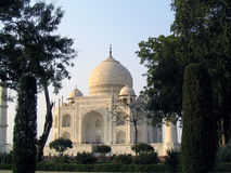 Le Taj Mahal à Agra Image stock
