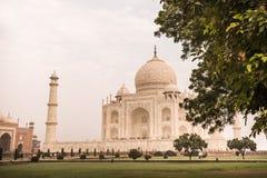 Le Taj Mahal à Agra, Inde Images stock