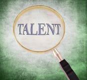 Le talent magnifient Image stock