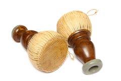 Le tambour thaïlandais, vieille percussion thaïlandaise de Tapon bat du tambour Photographie stock