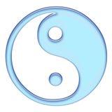 Le tao bleu Photo libre de droits