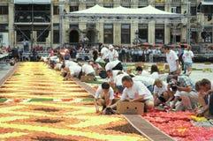 Le tapis 2012 de fleur Image libre de droits