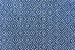 le tapis handcraft la texture d'armure de rotin pour le fond Photographie stock