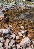 Le Tarn dans haut Tatras, Slovaquie Images stock