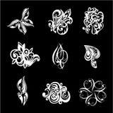 Le tatouage échantillonne des images Photos stock