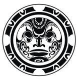 Le tatouage a dénommé le masque illustration stock