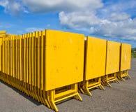 Le tavole del ferro di giallo Immagine Stock Libera da Diritti