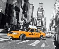 Le taxi ajustent parfois Images stock