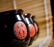 Le tazze del giapponese per tè Immagini Stock Libere da Diritti
