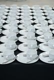 Le tazze hanno impostato Fotografie Stock Libere da Diritti