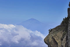 Le Teide éloigné Image libre de droits