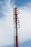 Le Telecomunicazioni di Palo Fotografia Stock Libera da Diritti