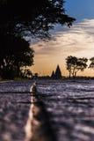 Le tempie della riva di Mahabalipuram Immagini Stock Libere da Diritti