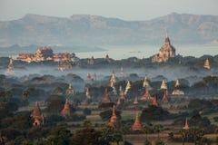 Tempie di Bagan - Myanmar fotografie stock libere da diritti