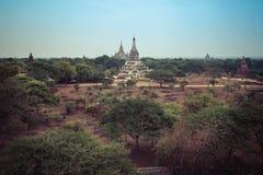 Le tempie di Bagan, Mandalay, Myanmar fotografia stock libera da diritti