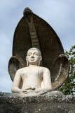 Le temple admirablement conçu de tête de cobra chez Pidurangala dans Sri Lanka Photo libre de droits
