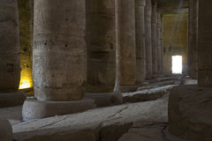 Le temple antique de Dendera en Egypte Photo libre de droits