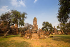 Le temple antique, Thaïlande Photographie stock