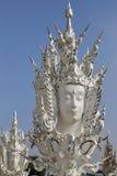 Le temple blanc en Chiang Rai, Thaïlande Image stock
