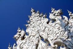 Le temple blanc en Thaïlande Photographie stock