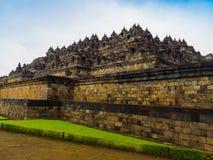 Le temple bouddhiste du 9ème siècle Borobudur, Magelang Regency de Mahayana, près de Yogyakarta, Java Island, Indonésie Photos libres de droits