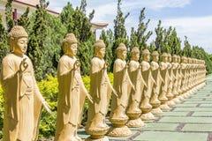 Le temple bouddhiste, Foz font Iguacu, Brésil Image libre de droits