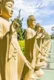 Le temple bouddhiste, Foz font Iguacu, Brésil Photographie stock libre de droits