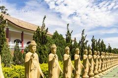 Le temple bouddhiste, Foz font Iguacu, Brésil Photos libres de droits