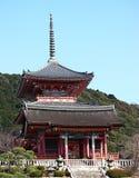 Le temple bouddhiste Kiyomizu-dera Images stock