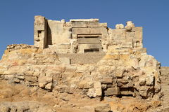 Le temple d'Ammon dans la ville d'oasis de Siwa photo libre de droits