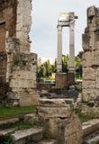 Le temple d'Apollo Sosianus à Rome Photos libres de droits